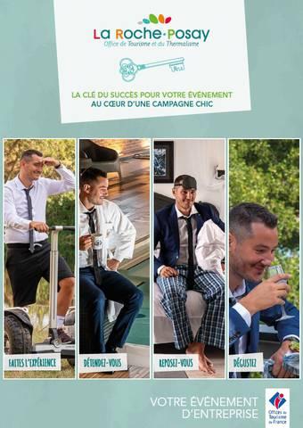 Brochure Tourisme groupe affaires La Roche-Posay
