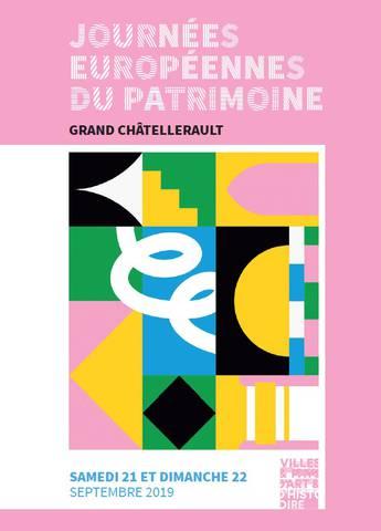 programme Journées du patrimoine Grand Châtellerault et La Roche-Posay