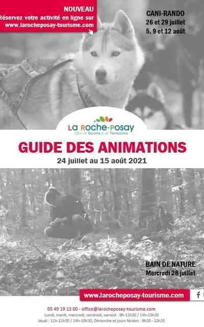 Programme animations de La Roche-Posay