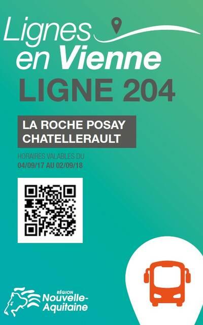 Guide horaires car Châtellerault La Roche-Posay