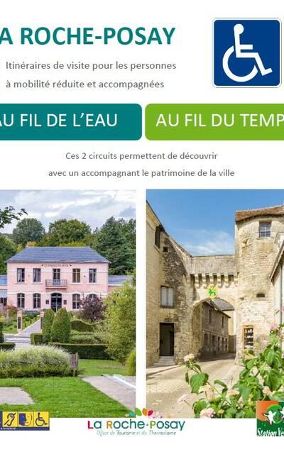 Itinéraires de visite La Roche-Posay pour PMR
