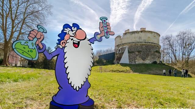 Chasse au trésor au Château de Monthoiron