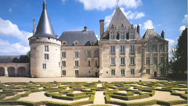 Château parc et jardins Azay-le-Ferron