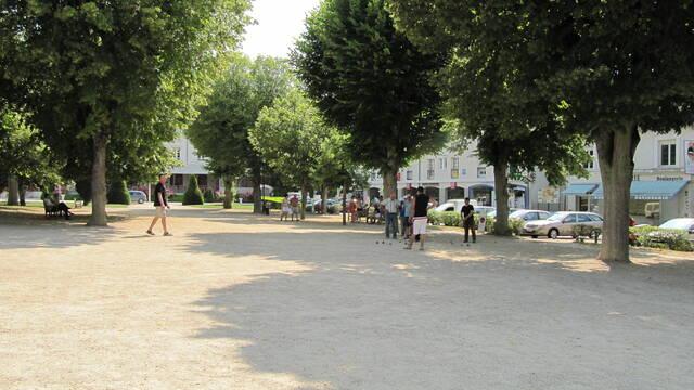 Place de la République La Roche-Posay