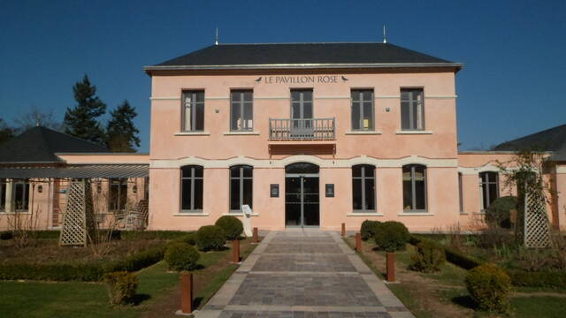 Pavillon Rose patrimoine thermal La Roche-Posay