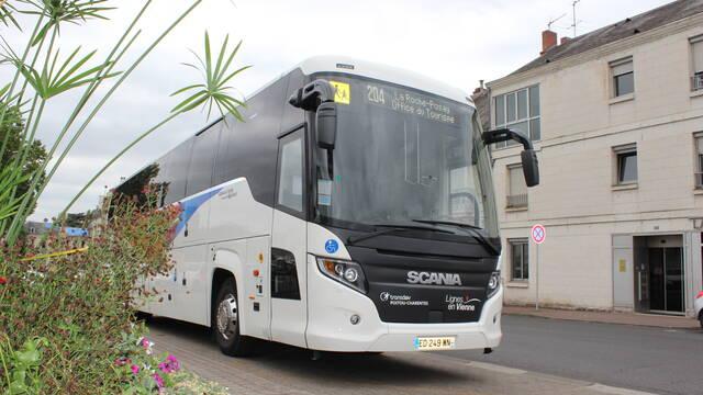 Autobús Châtellerault La Roche-Posay