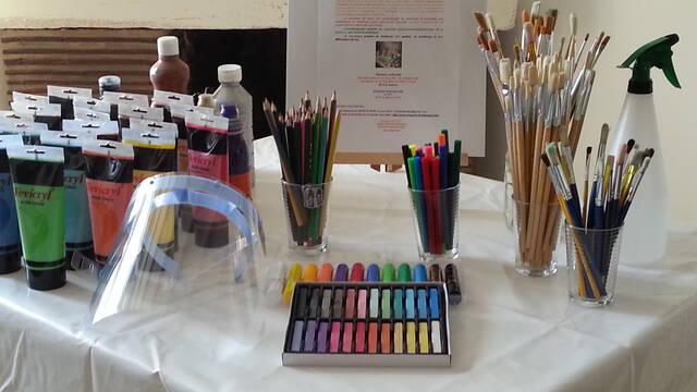 Art-thérapie à La Roche-Posay