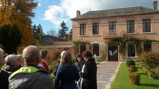 Guided tour History of thermal spa activity La Roche-Posay