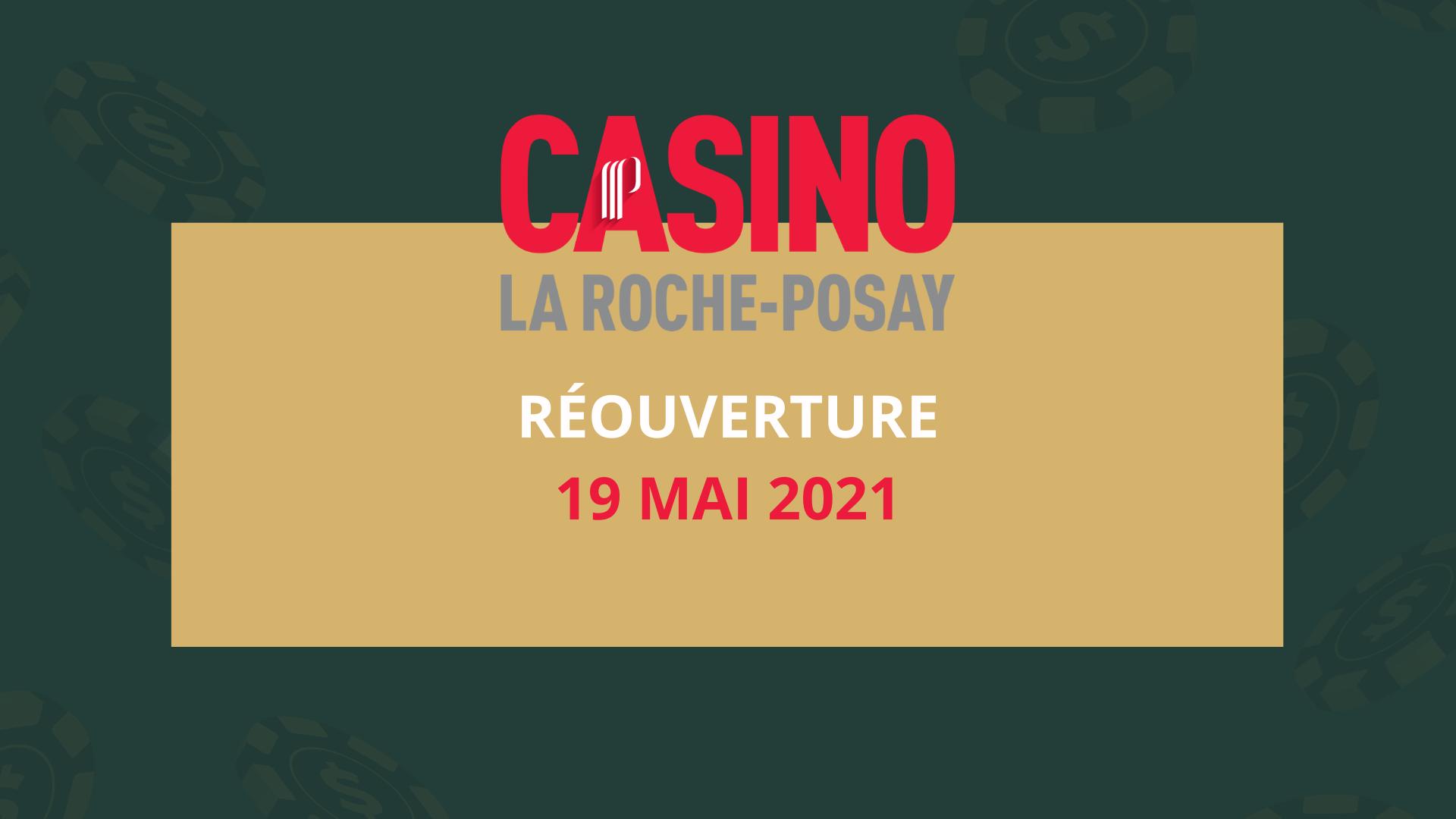 Réouverture Casino La Roche-Posay