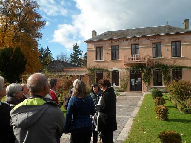 Visite guidée Histoire du Thermalisme La Roche-Posay