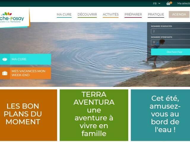 Site internet de l'Office de Tourisme de La Roche-Posay