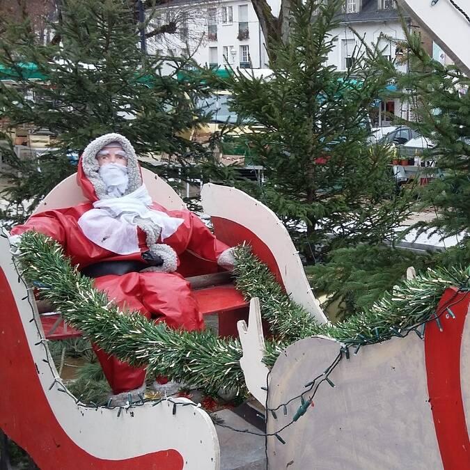 Marché de Noël spectacle Noël La Roche-Posay