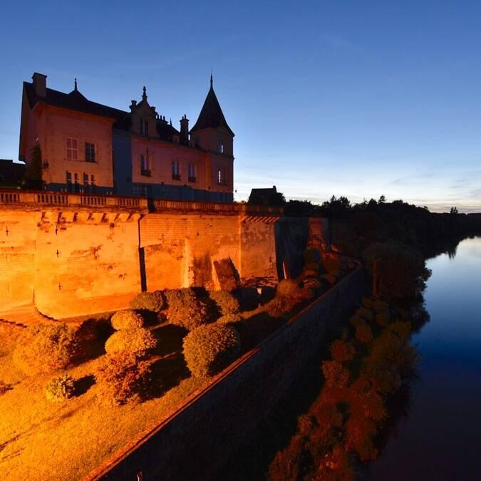 Castel de nuit La Roche-Posay ©BURGHELLE Gerard