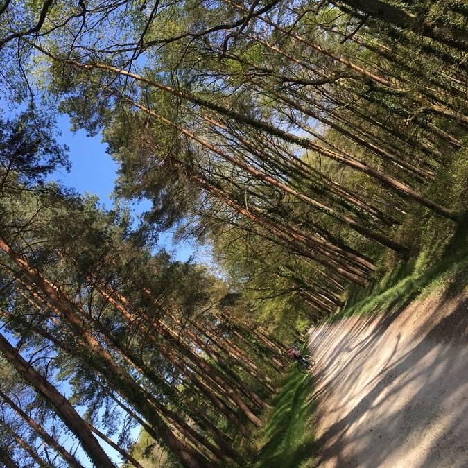 Chemin de randonnée La Roche-Posay ©Dylan