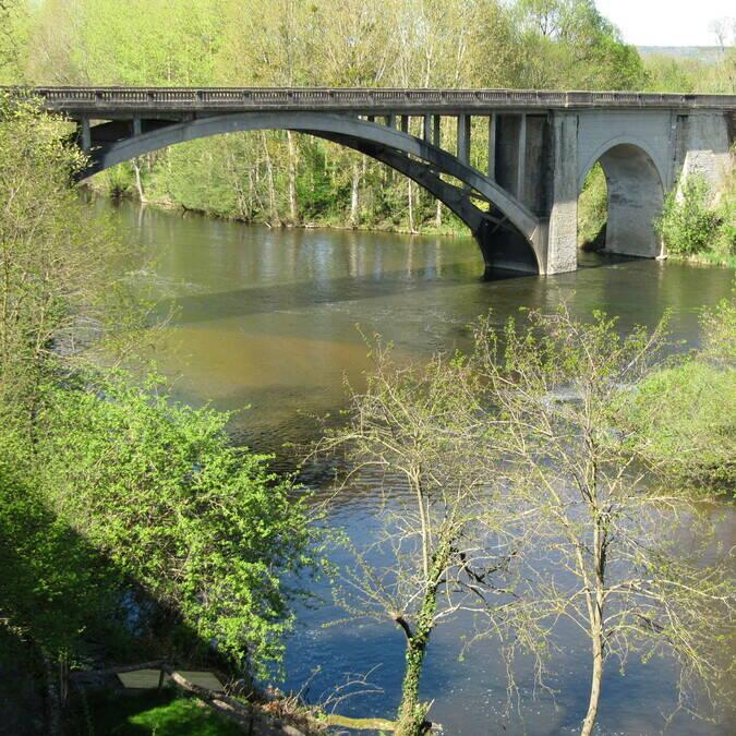 Puente del Creuse La Roche-Posay