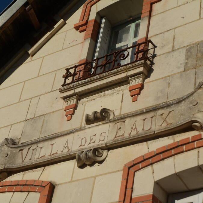avenue des fontaines patrimonio termal de La Roche-Posay