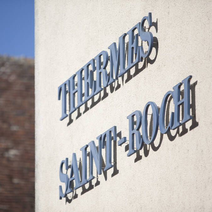 Les Thermes Saint Roch thermal heritage La Roche-Posay