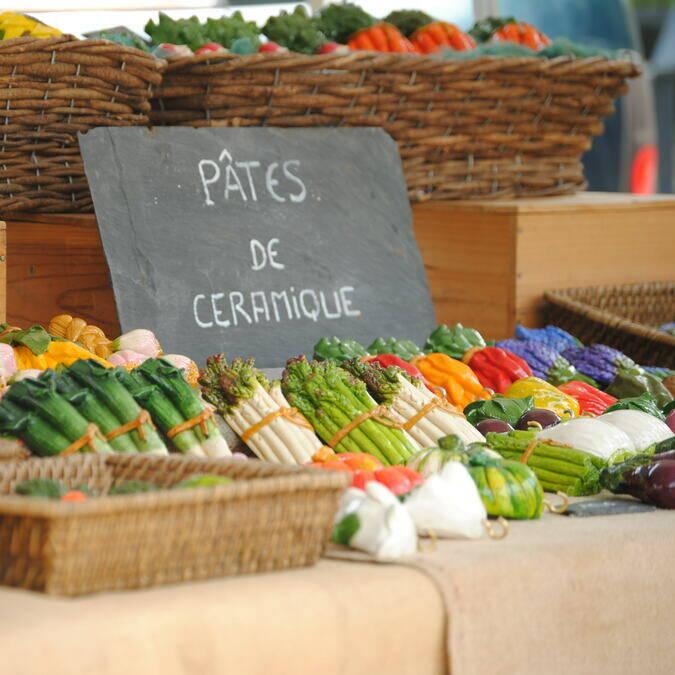 Markets in the La Roche-Posay area