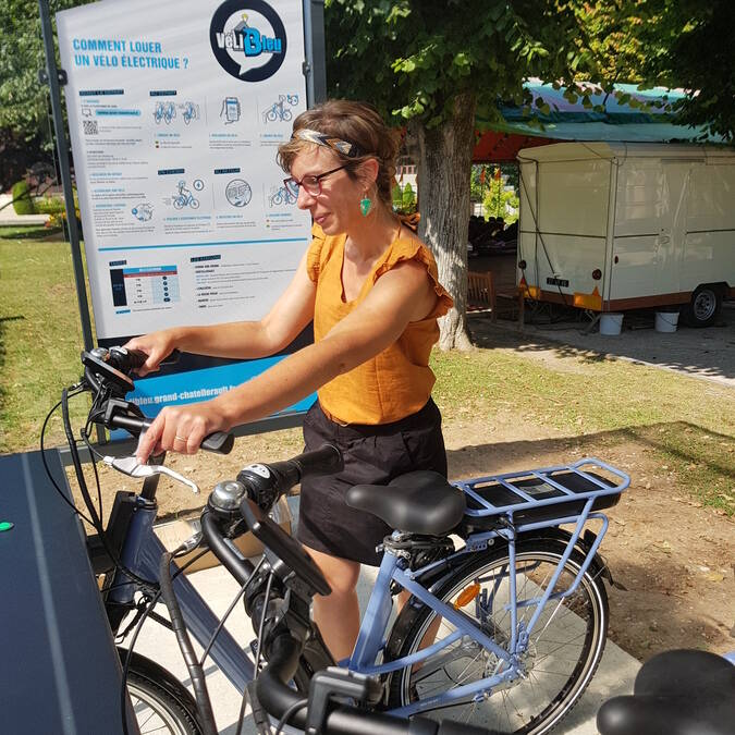 Location vélos électriques La Roche-Posay