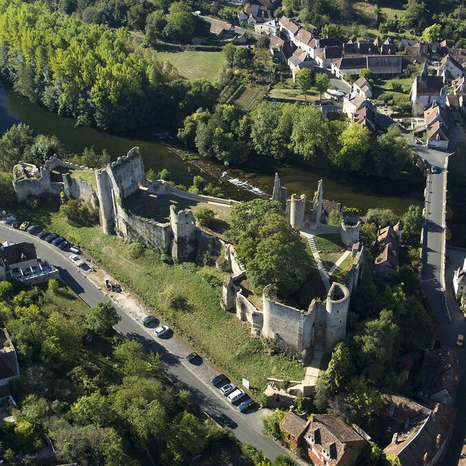 Forteresse Angles-sur-l'Anglin