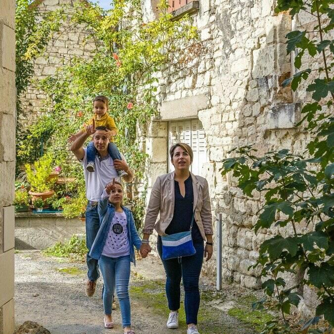 Ruelles médiévales de La Roche-Posay