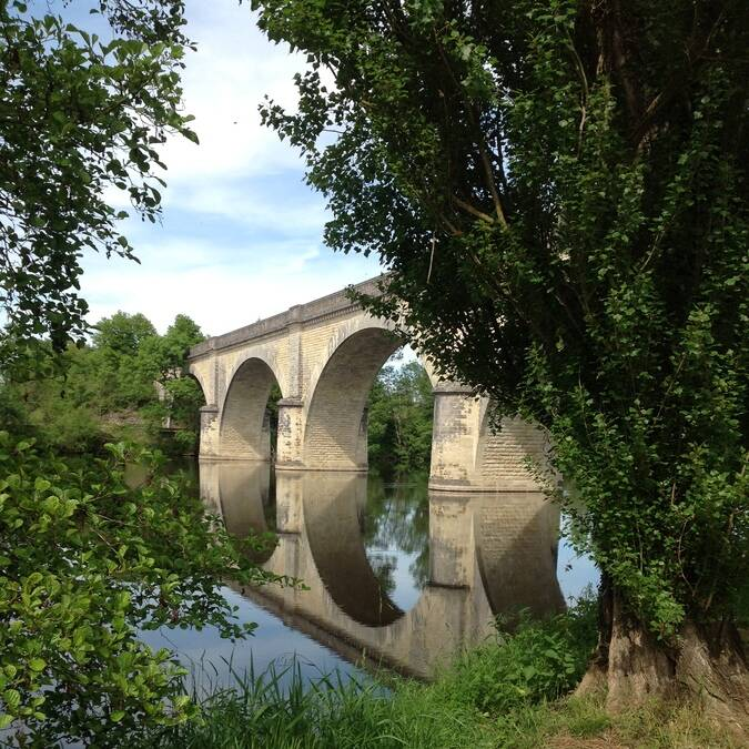 Bords de Creuse à La Roche-Posay