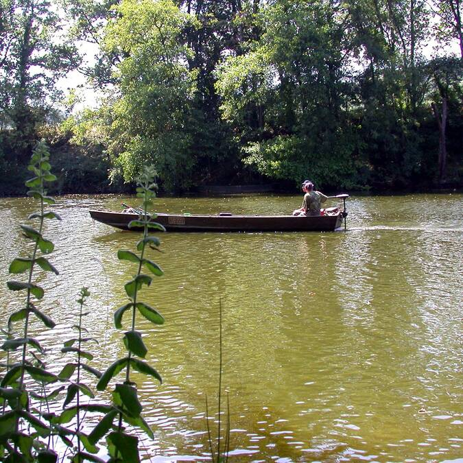 Pêche dans la Creuse